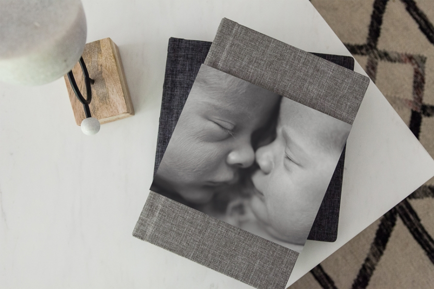 newborn baby heirloom album